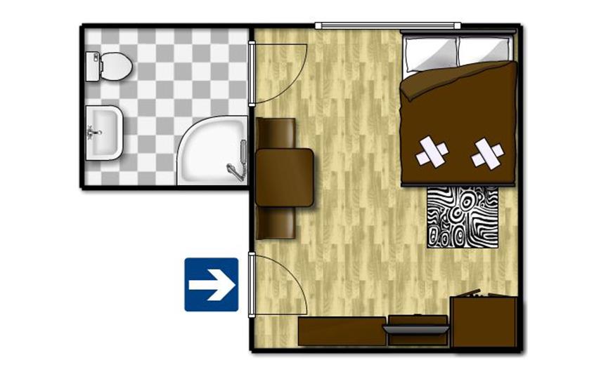 Standard egyágyas szoba 6